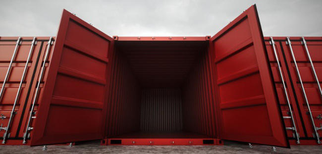 used cargo containers in Laredo, Texas