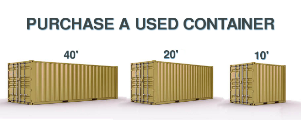 used storage containers for sale