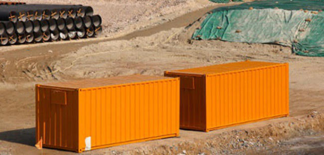 used storage containers in Miami, Florida